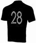 Lance Armstrong Black 28 Jersey