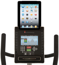 Diamondback 910SR iPad Attachment console