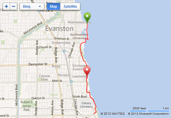The Evanston Lakefront Bike Paths  Photos And Ride Report