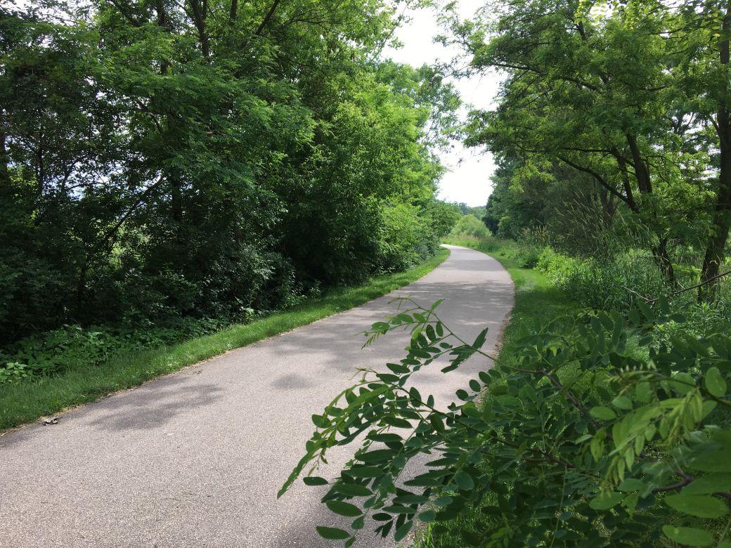 Biking On Military Ridge Trail West Of >> The Military Ridge Trail Wisconsin