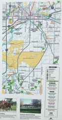Wauponsee Glacial Trail map