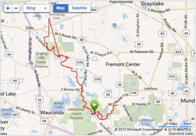 Millenium Trail Map