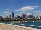 Chicago Skyline from Shedd Aquarium